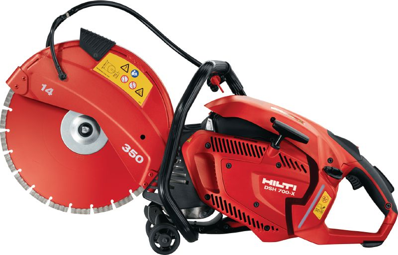 DSH 700-X Versatile, rear-handle, hand-held 70 cc gas saw with auto-choke – cutting depth up to 5