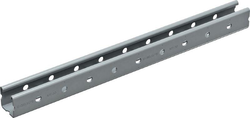 MT-50 OC Strut channel (outdoor) Strut channel with corrosion-resistant coating