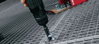 X-GR Directly fastened grating fastener Applications 1