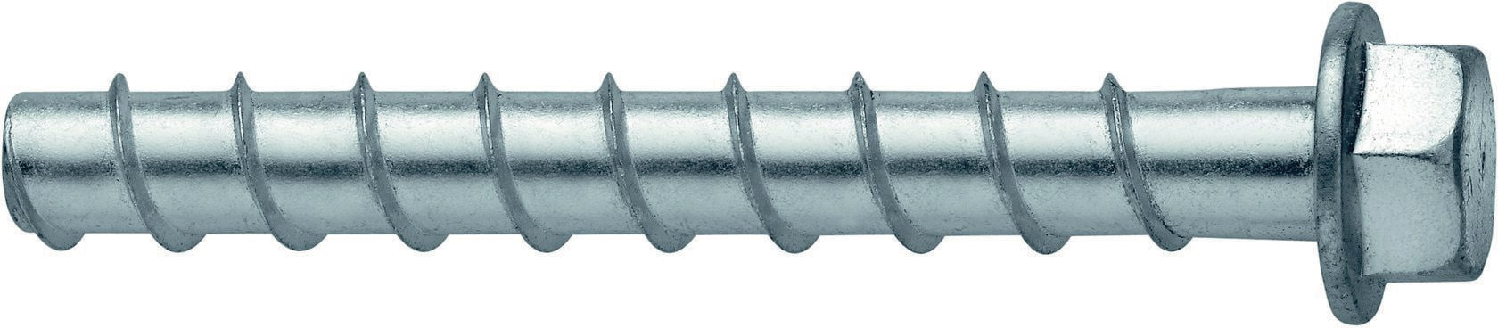 30-Pack Hilti 418061 3//8-inch x 5-inch Kwik Hus-EZ Concrete and Masonry Screw Anchors