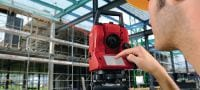 POS 18 Precise construction total station for two-person operation with 3  angle measurement accuracy Applications 2