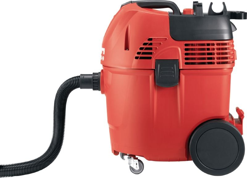 VC 125-9 Universal, economical wet and dry vacuum cleaner with 125 CFM suction to comply with OSHA dust standards