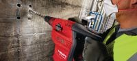 TE 70-ATC/AVR Rotary hammer Very powerful SDS Max (TE-Y) rotary hammer for heavy-duty concrete drilling and chiseling, with Active Torque Control (ATC) and Active Vibration Reduction (AVR) Applications 3