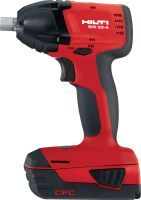 SIW 22-A Power-class 22V light-torque impact wrench with 1/2 detent pin anvil for anchoring and bolting