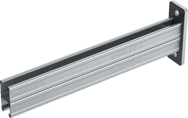 MQK-41 D-R Stainless steel double bracket for medium-duty applications