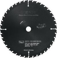 SPX – fine finish Ultimate circular saw blade for fine finish in wood, offering more run time for cordless saws