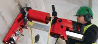"DD 150-U Core drill Versatile diamond drilling tool for handheld or rig-based coring up to 160 mm (6-1/4"") Applications 3"