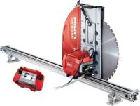 DST 10-CA Electric wall saw for small/medium cutting jobs with cut assistance and on-board control electronics (no e-box)