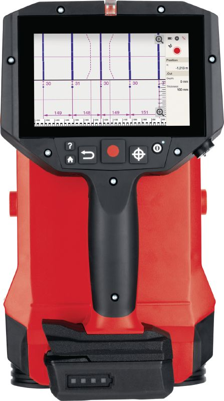 PS 300 Ferroscan system Concrete detector for rebar localization, depth measurement and size estimation in structural analysis