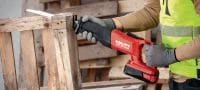 SR 30-A36 reciprocating saw Cordless 36V reciprocating saw engineered for extremely heavy-duty demolition and cutting to length with minimal vibration and advanced ergonomics Applications 2