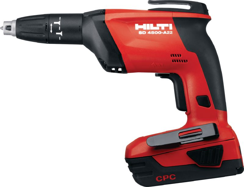 SD 4500-A22 Cordless screwdriver Cordless 22V drywall screwdriver with 4500 rpm for drywall applications