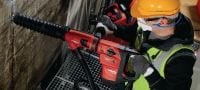 TE DRS-Y Dust removal system for concrete drilling and chiseling with Hilti SDS Max (TE-Y) rotary hammers Applications 1