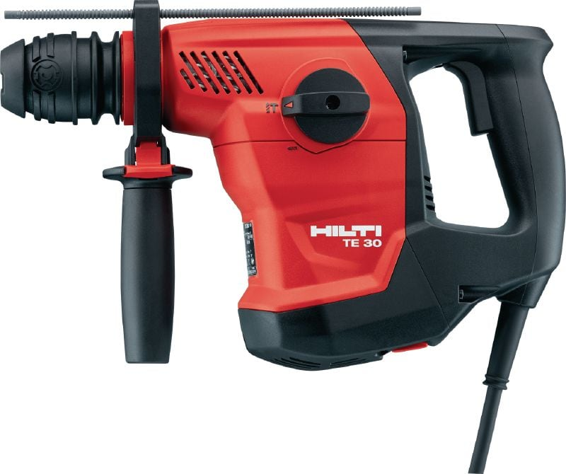 TE 30 Powerful SDS Plus (TE-C) rotary hammer for heavy-duty concrete drilling