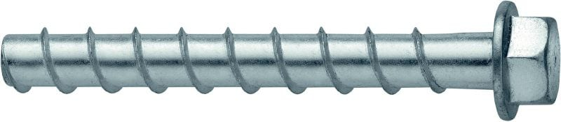 KH-EZ Concrete screw anchor Ultimate-performance screw anchor for quicker permanent fastening in concrete (carbon steel, hex head)