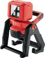 SL 6-A22 LED work light Cordless 22V LED work light with rotating head and integrated mounting options for illumination of medium to large work areas