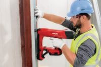 BX 3 02 22V cordless nailer for interior finishing applications Applications 4