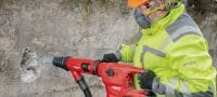 TE 60-A36 Cordless rotary hammer High-performance cordless SDS Max combihammer with Active Vibration Reduction and Active Torque Control for heavy-duty drilling and chiseling in concrete Applications 4