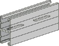 HS Pre-galvanized back-to-back (B2B) strut channels for medium-duty applications 1-5/8 - 12 ga