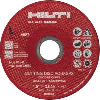 AC-D SPX Type 1 Cut-Off Wheel Ultimate-performance Zirconium cut-off wheel for precise, low-vibration metalwork using an angle grinder – recommended for stainless steel