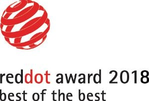 "This product has been awarded the ""Best of the Best Interface Design"" Red Dot Award."