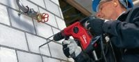 TE 7 Compact and light-weight D-grip SDS Plus (TE-C) rotary hammer Applications 2