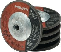 AG-D UP Standard abrasive grinding disc with metal hub