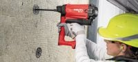 GX-IE Gas nailer for insulation fastening on soft and some tough concrete Applications 2